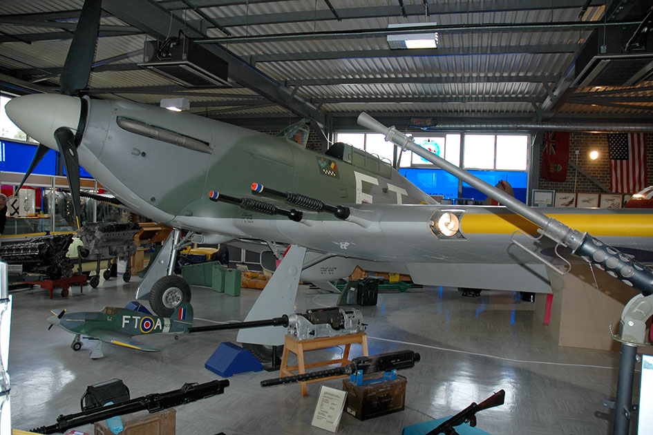 Hawker Hurricane IIC LF751 on display at the Manston Spitfire and Hurricane Museum 2010