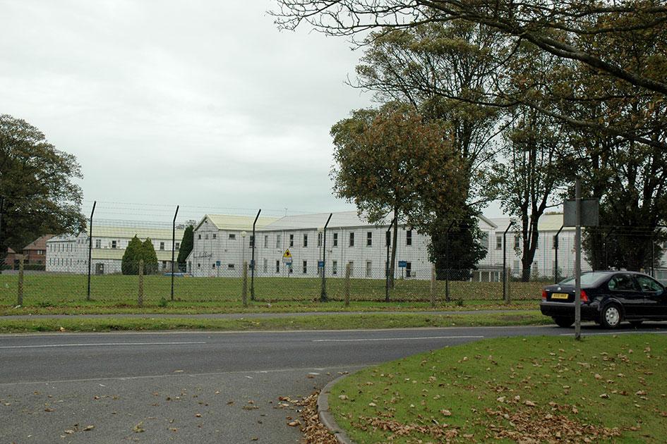 RAF Manston former Barracks block from WWII