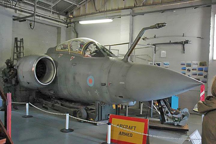 RAF Manston History Museum Blackburn Buccaneer S2B XV352 Cockpit