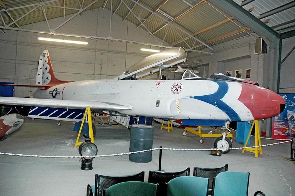 RAF Manston History Museum Canadair T-133 Silver Star Mk.3 G BYOY