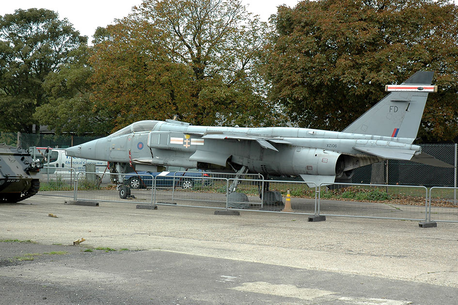 RAF Manston History Museum SEPECAT Jaguar GR3 XZ106