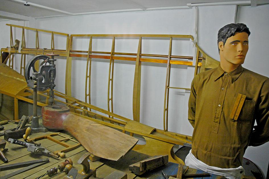 RAF Manston History Museum WWI diorama